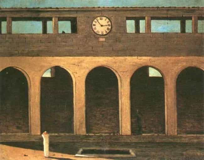 The Enigma of the Hour ... is listed (or ranked) 1 on the list Famous Giorgio de Chirico Paintings