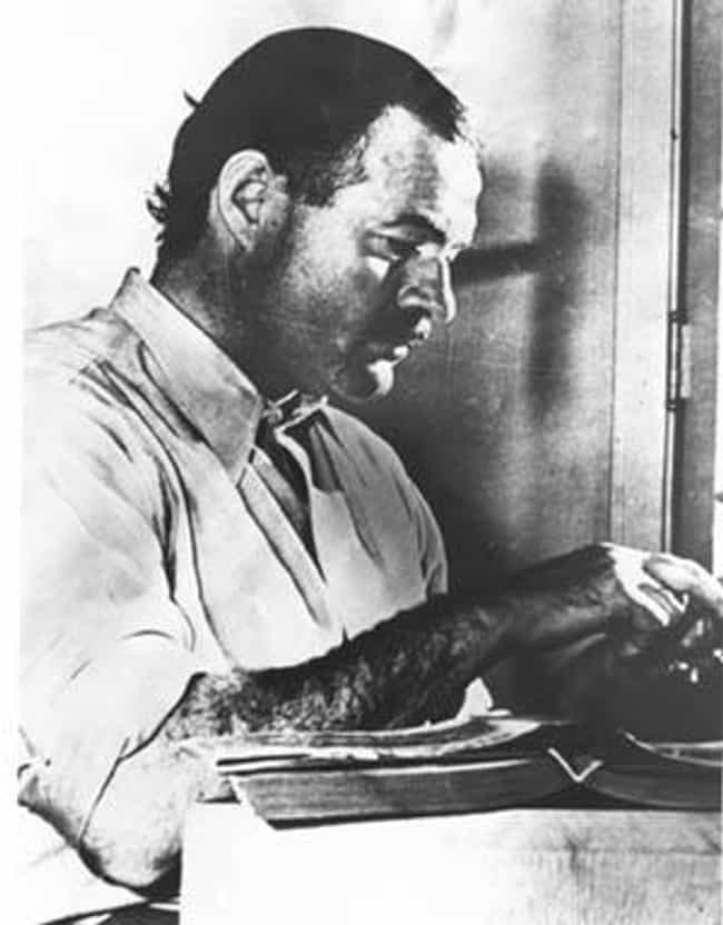 Ernest Hemingway is listed (or ranked) 1 on the list Famous Writers Who Committed Suicide