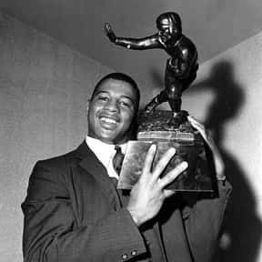 Ernie Davis is listed (or ranked) 22 on the list The Best Heisman Trophy Winners of All Time