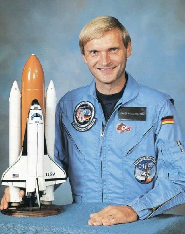 Ernst Messerschmid is listed (or ranked) 2 on the list Famous Astronauts from Germany