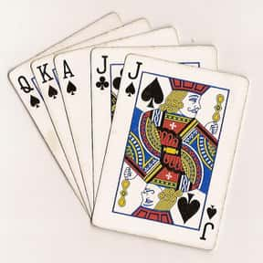 Euchre is listed (or ranked) 25 on the list The Most Popular & Fun Card Games