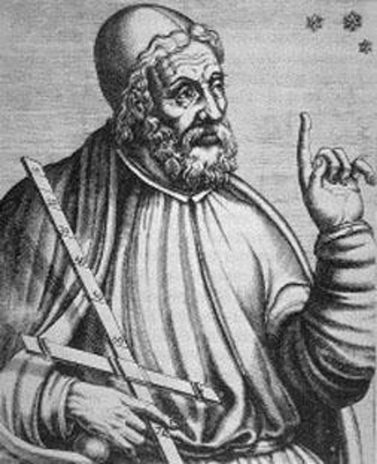 Eudoxus of Cnidus is listed (or ranked) 3 on the list Famous Philosophers from Greece