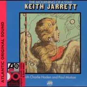 The Mourning of a Star is listed (or ranked) 25 on the list The Best Keith Jarrett Albums of All Time