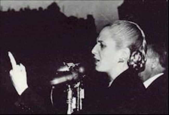 Eva Perón is listed (or ranked) 1 on the list Famous People Who Died of Cervical Cancer