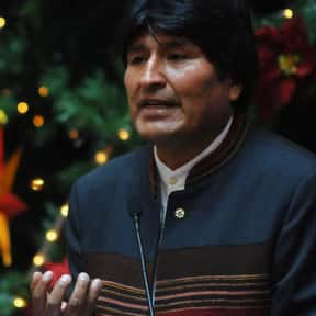 Evo Morales is listed (or ranked) 2 on the list Famous People From Bolivia