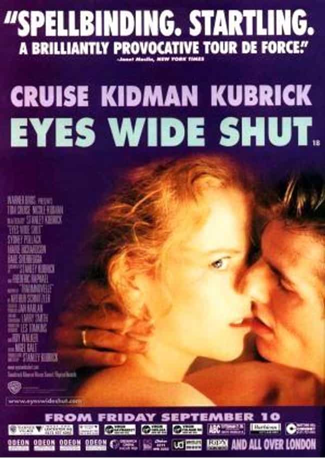 Eyes Wide Shut is listed (or ranked) 2 on the list The Most Pretentious Movies Ever Made