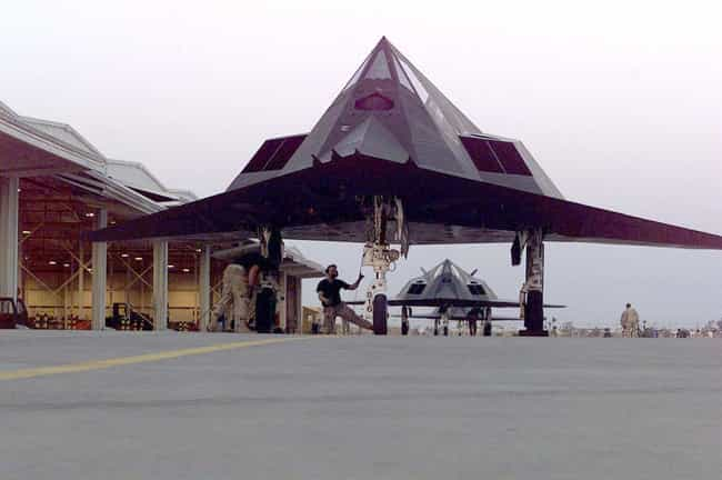 Lockheed F-117 Nighthawk is listed (or ranked) 2 on the list Skunk Works Airplanes and Aircrafts
