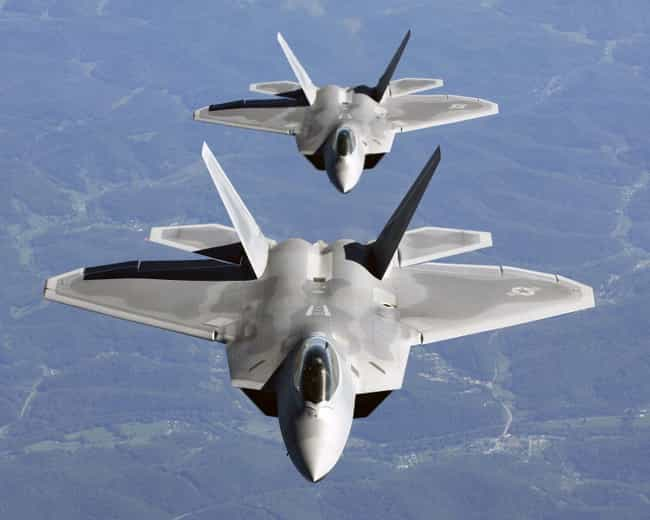 Lockheed Martin F-22 Raptor is listed (or ranked) 3 on the list Skunk Works Airplanes and Aircrafts