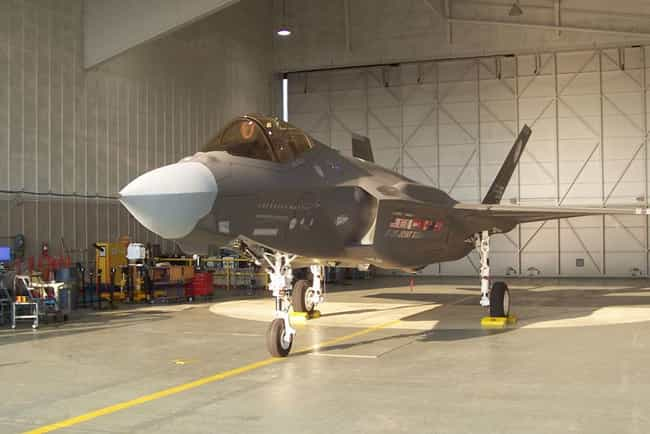 Lockheed Martin F-35 Lightning... is listed (or ranked) 4 on the list Skunk Works Airplanes and Aircrafts