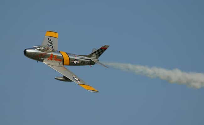 North American F-86 Sabre is listed (or ranked) 4 on the list Planes Used By Argentine Air Force