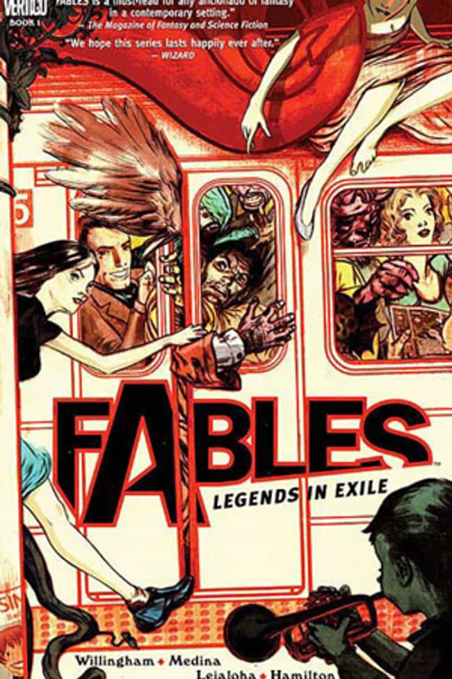 Fables is listed (or ranked) 2 on the list Comic Books That Would Make Great Cartoons
