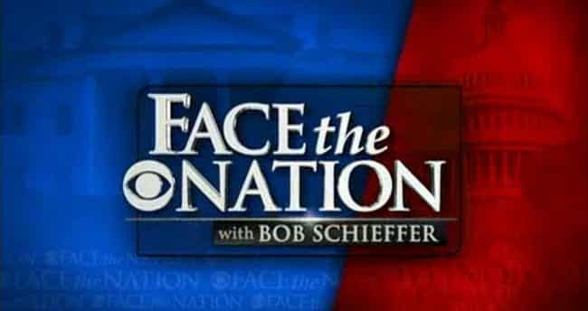 Face the Nation is listed (or ranked) 1 on the list The Best Sunday Morning Shows