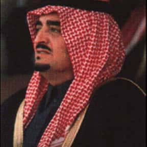 Fahd of Saudi Arabia is listed (or ranked) 16 on the list Famous People From Saudi Arabia