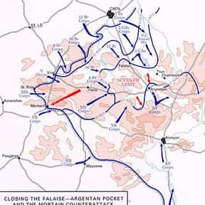 Falaise pocket is listed (or ranked) 12 on the list The Battles of Walter Model