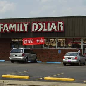 Family Dollar is listed (or ranked) 9 on the list List of Variety Stores Companies