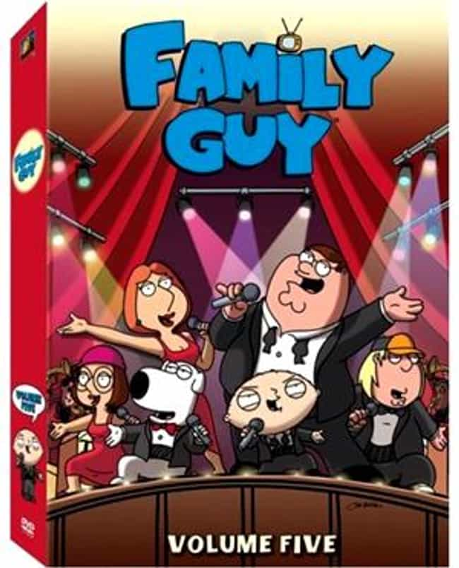Family Guy - Season 5 is listed (or ranked) 2 on the list The Best Seasons of 'Family Guy'