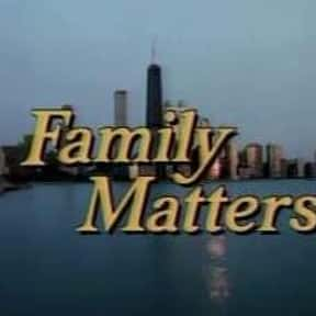 Family Matters is listed (or ranked) 9 on the list The Greatest Black Sitcoms of the 1990s