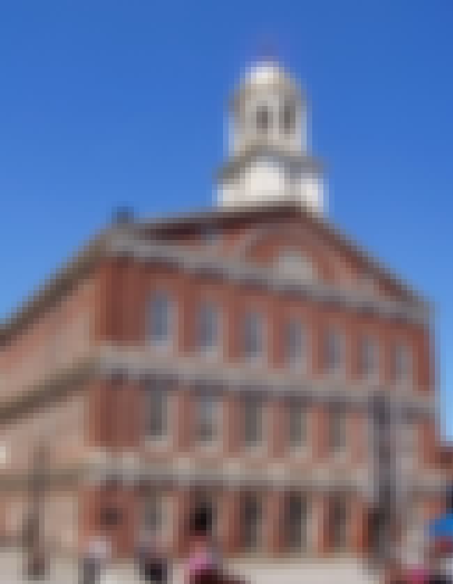 Faneuil Hall is listed (or ranked) 4 on the list List of Charles Bulfinch Architecture