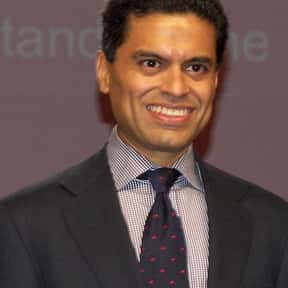 Fareed Zakaria is listed (or ranked) 5 on the list Famous Scroll and Key Members