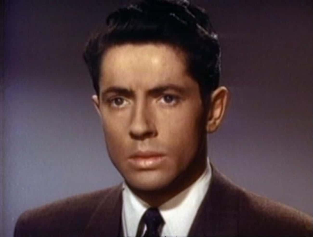 Farley Granger is listed (or ranked) 4 on the list Men Who Barbara Nichols Has Dated