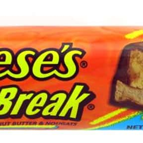Reese's Fast Break is listed (or ranked) 21 on the list The Best Chocolate Bars