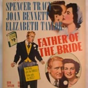 Father of the Bride is listed (or ranked) 12 on the list The Best Comedy Movies of the 1950s