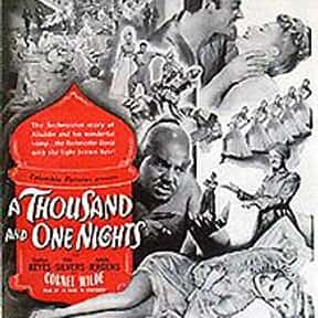 A Thousand and One Nights is listed (or ranked) 24 on the list The Best Romantic Comedies of the 1940s