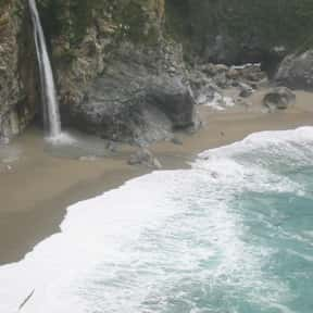 McWay Falls is listed (or ranked) 16 on the list List of Waterfalls in the US