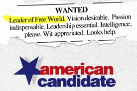 American Candidate on Random Best Career Competition Shows