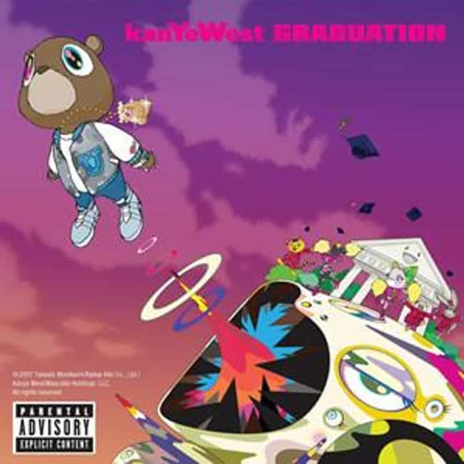 Graduation is listed (or ranked) 3 on the list The Best Kanye West Albums of All Time