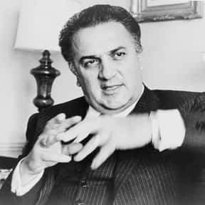 Federico Fellini is listed (or ranked) 19 on the list A List Of Playboy Interviews Of The '60s