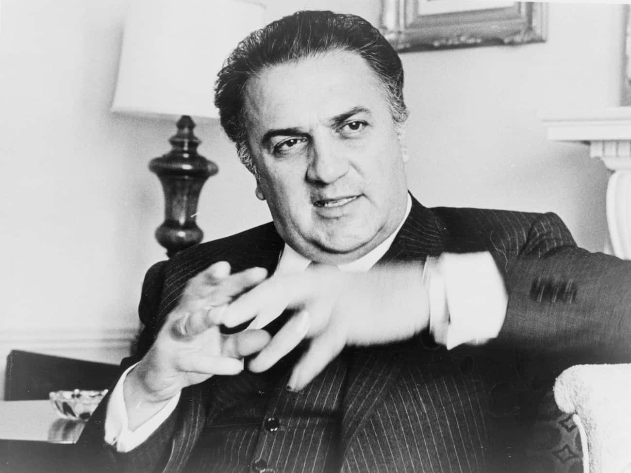 Federico Fellini is listed (or ranked) 3 on the list Famous People Born in 1920