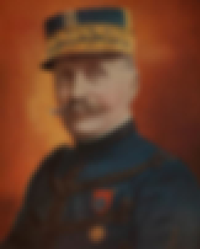 Ferdinand Foch is listed (or ranked) 8 on the list List of Famous Generals