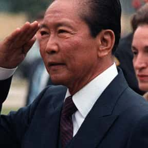 Ferdinand Marcos is listed (or ranked) 14 on the list List of Famous Dictators