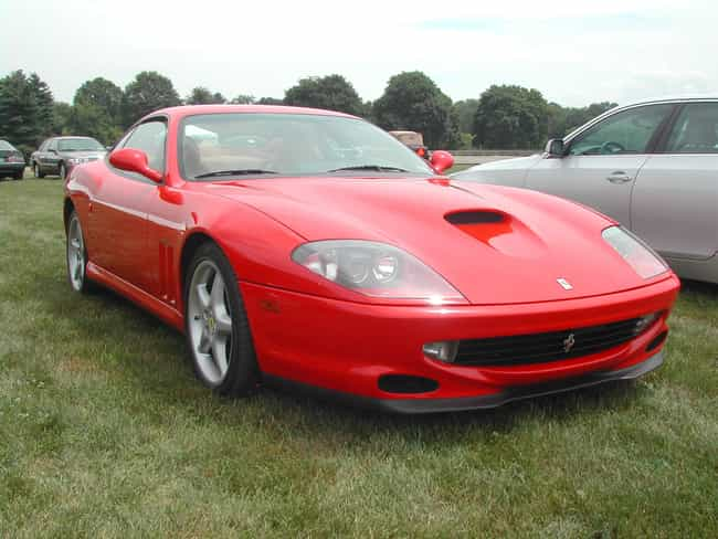 Ferrari 550 Is Listed Or Ranked 19 On The List Full Of