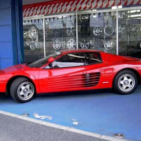 Ferrari Testarossa is listed (or ranked) 20 on the list The Ultimate Dream Garage