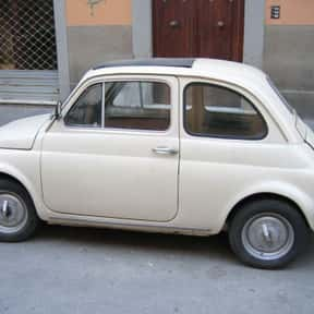 Fiat 500 is listed (or ranked) 22 on the list The Greenest Green Cars