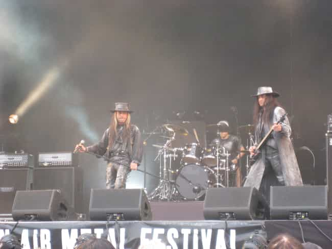 Fields of the Nephilim ... is listed (or ranked) 3 on the list The Best Rock Noir Bands/Artists