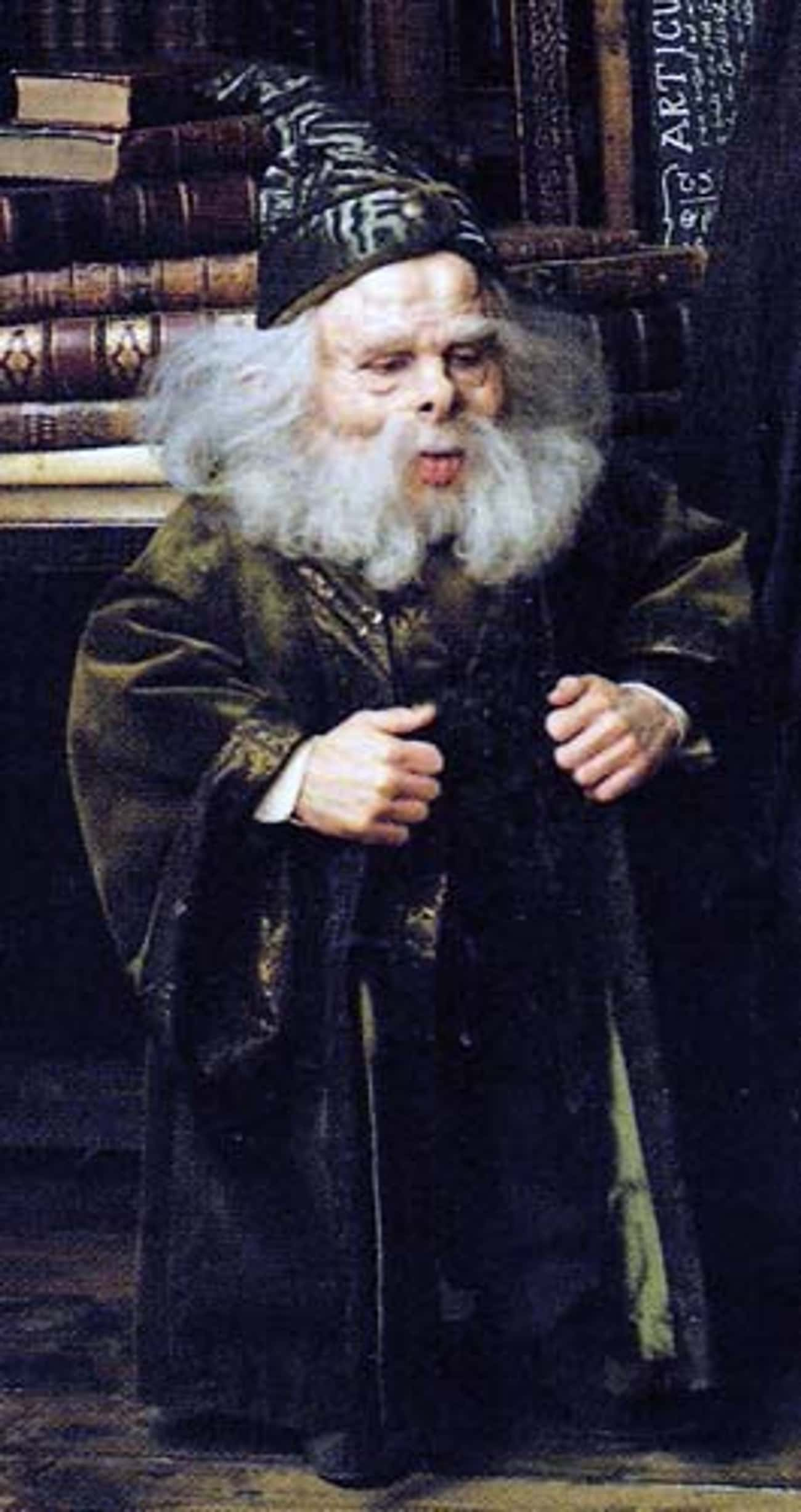 Professor Filius Flitwick is listed (or ranked) 4 on the list The Best Members of Ravenclaw