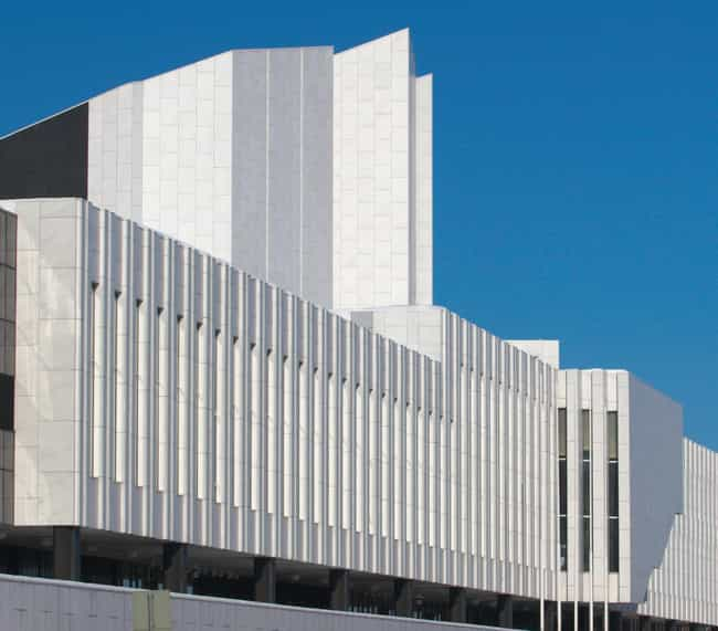 Finlandia Hall, Helsinki is listed (or ranked) 2 on the list List of Famous Helsinki Buildings & Structures