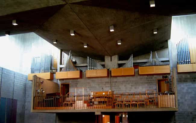 First Unitarian Church of Roch... is listed (or ranked) 2 on the list List of Louis Kahn Architecture