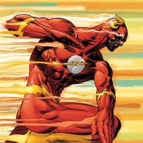 Flash is listed (or ranked) 10 on the list The Best Comic Book Superheroes Of All Time