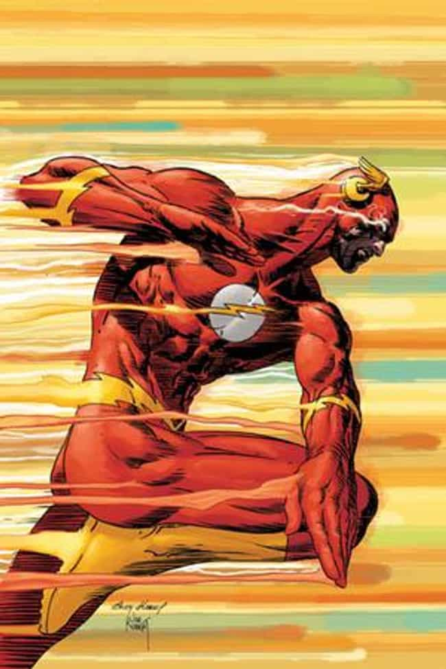 Flash is listed (or ranked) 2 on the list The Strongest Time-Traveling Superheroes, Ranked