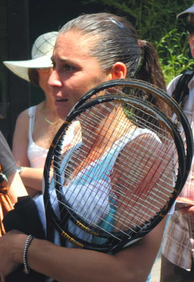 Flavia Pennetta is listed (or ranked) 3 on the list The Best Tennis Players from Italy