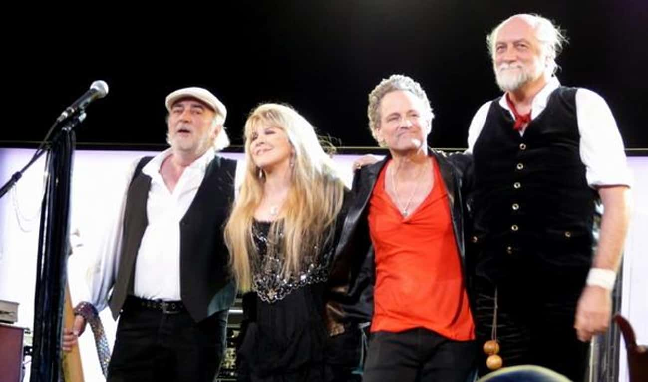 Fleetwood Mac is listed (or ranked) 4 on the list Famous Band Reunions: Love 'Em or Hate 'Em?
