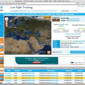FlightAware is listed (or ranked) 24 on the list List of Aviation Companies
