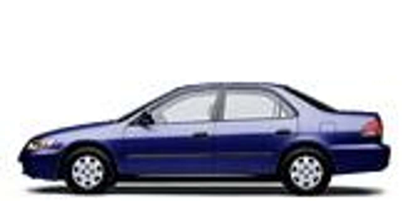 2002 Honda Accord Coupe EX is listed (or ranked) 1 on the list List of 2002 Hondas