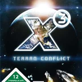 X3: Terran Conflict is listed (or ranked) 2 on the list The Best Space Combat Simulator Games of All Time