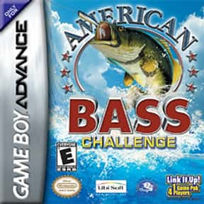 American Bass Challenge is listed (or ranked) 21 on the list Nintendo Game Boy Advance Games
