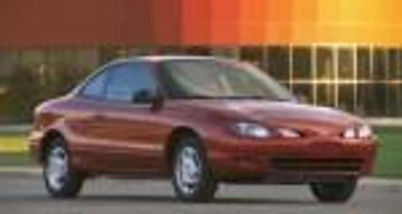 2001 Ford Escort Sedan ZX2